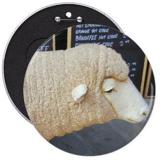 Insignia de las ovejas de la calle pin redondo 15 cm