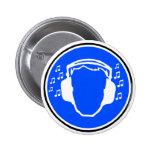 Insignia de los auriculares pin