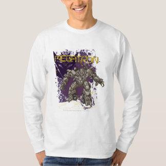 Insignia de Megatron púrpura/amarillo Remeras