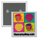 Insignia de Neuromonkey Pin