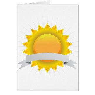 Insignia de oro del sello del premio tarjeta pequeña