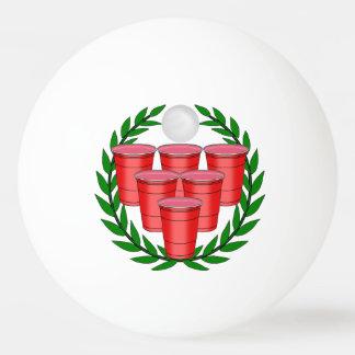 Insignia de Pong de la cerveza Pelota De Ping Pong