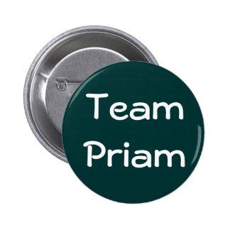Insignia de Priam del equipo Pin Redondo 5 Cm