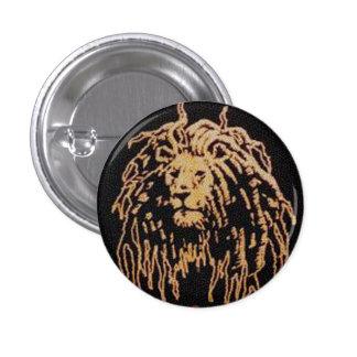 Insignia de Rastafari Pin Redondo De 1 Pulgada