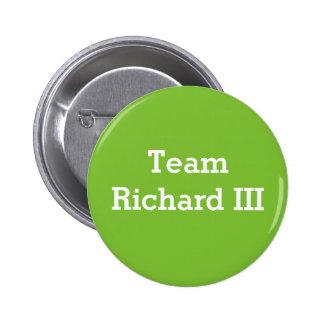 Insignia de Richard III del equipo Pin Redondo De 2 Pulgadas