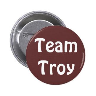 Insignia de Troy del equipo Pin Redondo 5 Cm