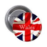 Insignia de Union Jack (País de Gales) Pins