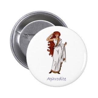 Insignia del Aphrodite Pin Redondo 5 Cm