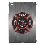 Insignia del bombero de lujo iPad mini funda