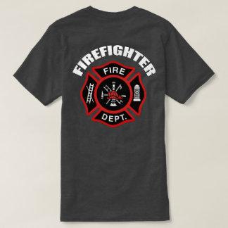Insignia del bombero playera