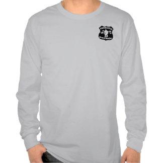 Insignia del bosque de la patrulla de Sasquatch Camisetas