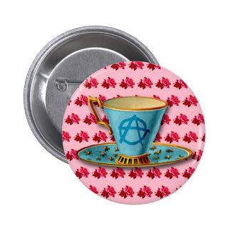 Insignia del botón de la taza de té de la anarquía pins