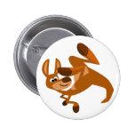 Insignia del botón de la voltereta del canguro lin