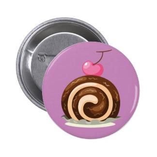 Insignia del botón de Rolls del suizo del Pin Redondo De 2 Pulgadas
