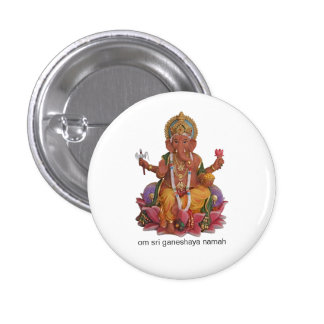 Insignia del botón de Sri Ganesha Pins