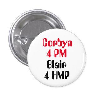 Insignia del botón del 4 de la tarde Blair 4 HMP Pin Redondo De 1 Pulgada