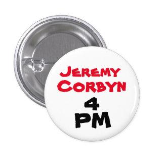 """""""Insignia del botón del 4 de la tarde de Jeremy Pin Redondo De 1 Pulgada"""
