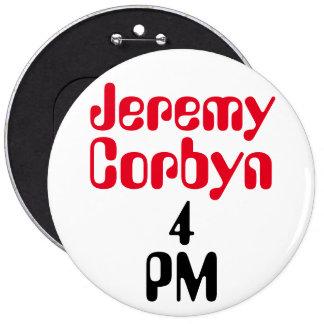"""""""Insignia del botón del 4 de la tarde de Jeremy Pin Redondo De 6 Pulgadas"""
