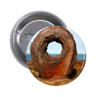 Insignia del botón del anillo del amarre del puert pins