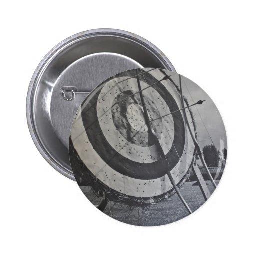 Insignia del botón del equipo del tiro al arco pins