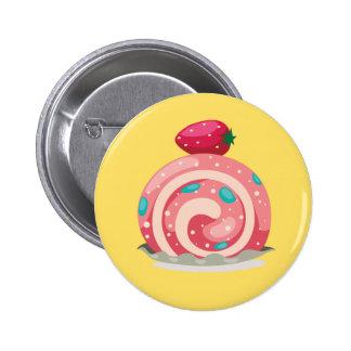 Insignia del botón del rollo suizo de la fresa pin redondo de 2 pulgadas
