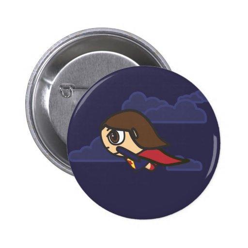 Insignia del botón del vuelo nocturno del personaj
