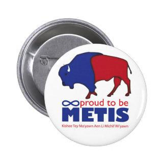 Insignia del búfalo de Metis Pin