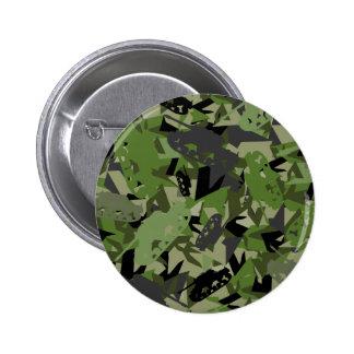 Insignia del camuflaje del ejército del tanque pin redondo de 2 pulgadas