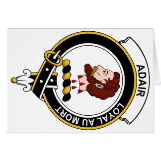 Insignia del clan de Adair Felicitaciones