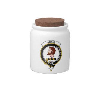 Insignia del clan de Adair Platos Para Caramelos