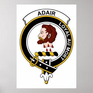 Insignia del clan de Adair Posters