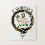 Insignia del clan de Aikenhead Rompecabeza Con Fotos