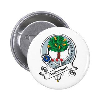 Insignia del clan de Anderson Pin Redondo 5 Cm