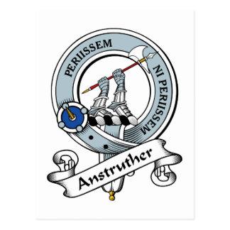 Insignia del clan de Anstruther Postal