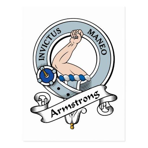 Insignia del clan de Armstrong Postal