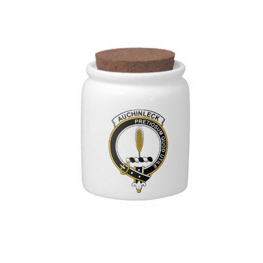 Insignia del clan de Auchinleck Platos Para Caramelos