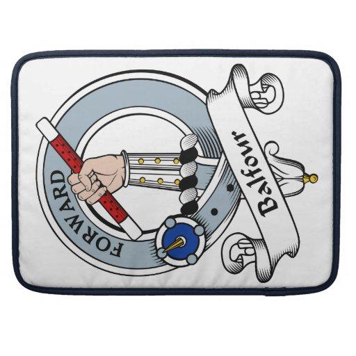Insignia del clan de Balfour Funda Para Macbooks