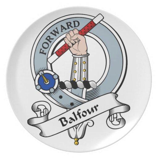 Insignia del clan de Balfour Platos De Comidas
