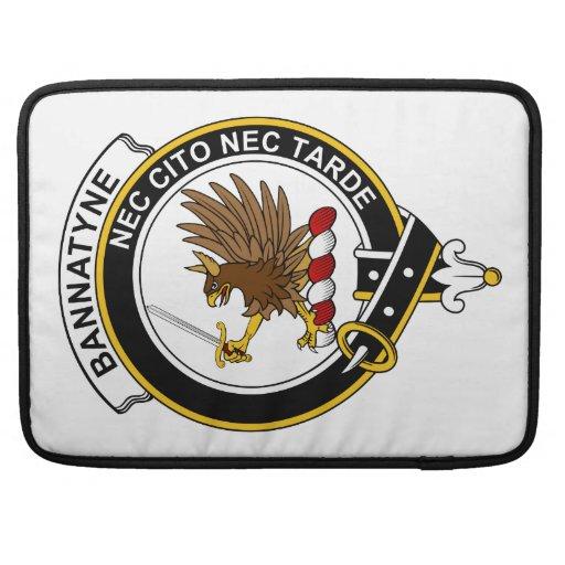 Insignia del clan de Bannatyne Funda Para Macbooks