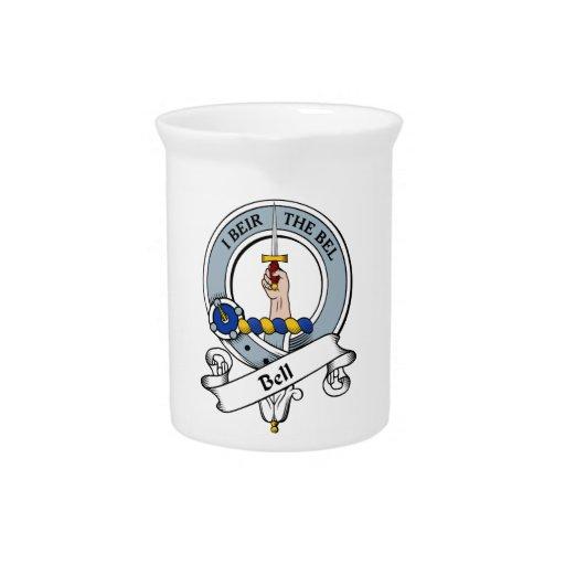 Insignia del clan de Bell Jarras Para Bebida