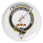 Insignia del clan de Blackadder Platos De Comidas