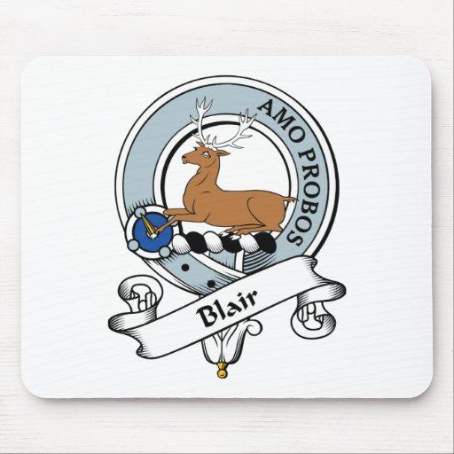 Insignia del clan de Blair Alfombrillas De Ratones