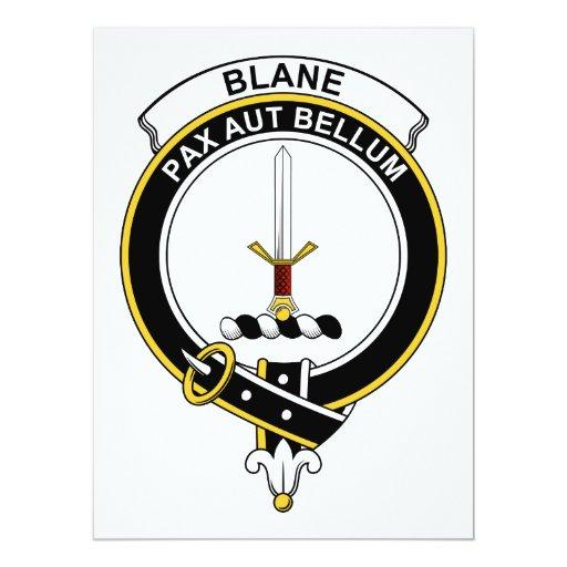 Insignia del clan de Blane Invitaciones Personales