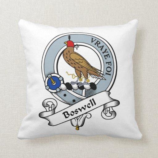 Insignia del clan de Boswell Cojín