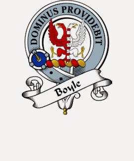 Insignia del clan de Boyle Camisas