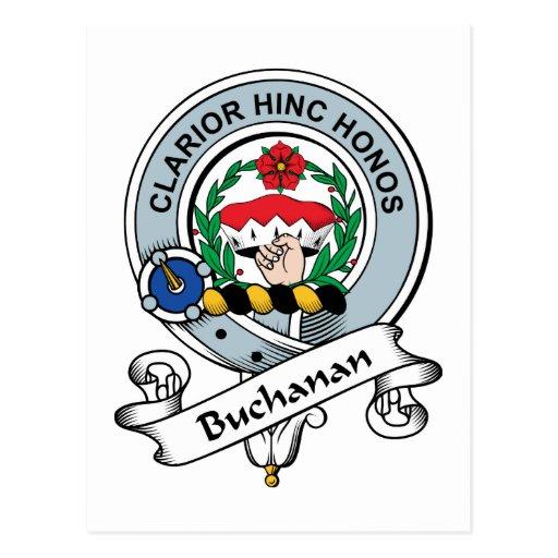Insignia del clan de Buchanan Tarjetas Postales