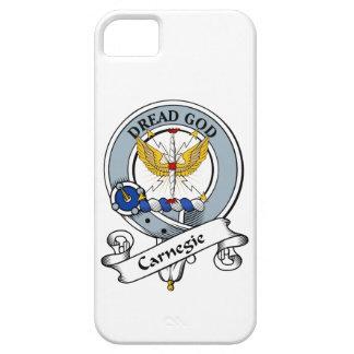 Insignia del clan de Carnegie iPhone 5 Carcasas