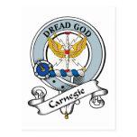 Insignia del clan de Carnegie Postales