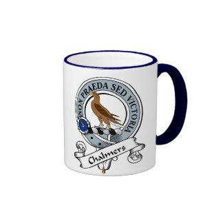 Insignia del clan de Chalmers Tazas De Café