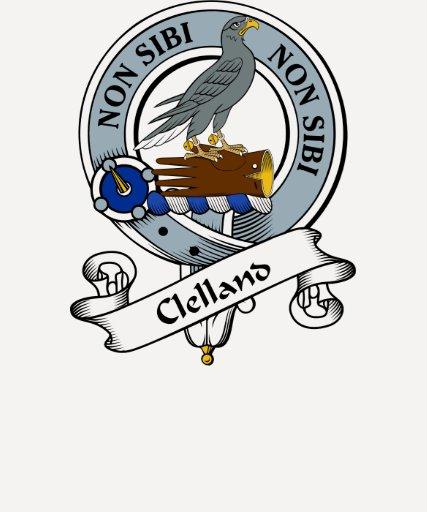 Insignia del clan de Clelland Playeras